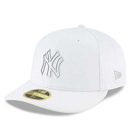 New York Yankees New Era 2018 Clubhouse Collection Low Profile 59FIFTY  Fitted Hat - White - Walmart.com cf1b0659f23