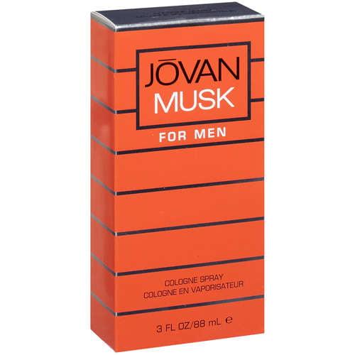 Jovan Musk For Men Cologne Spray, 3 fl oz