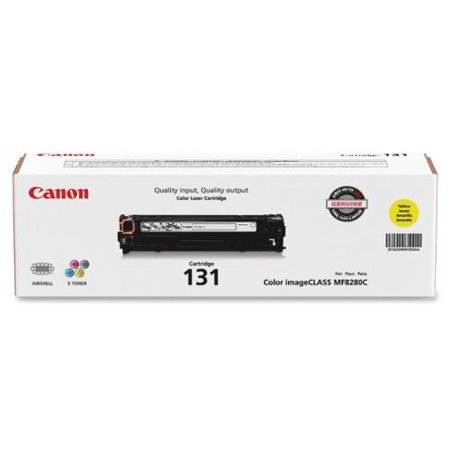 Canon Laser Printer Toner Cartridge - Yellow - Laser - 1500 Page - 1 Each