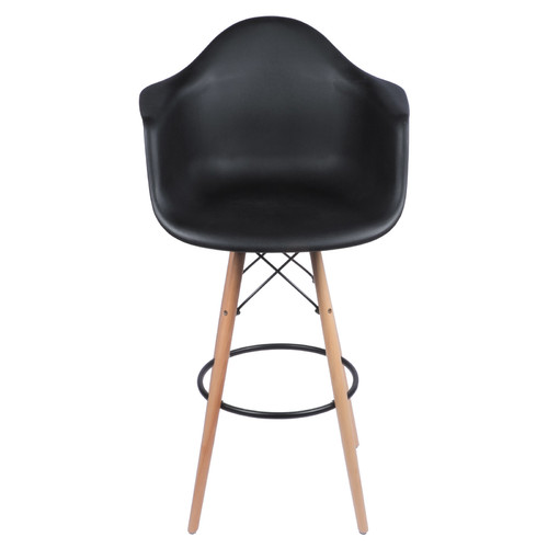 Eames Arm Chair With Bar Stool Legs