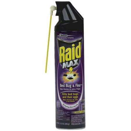 Raid Bed Bug And Flea Killer 17 5 Ounce