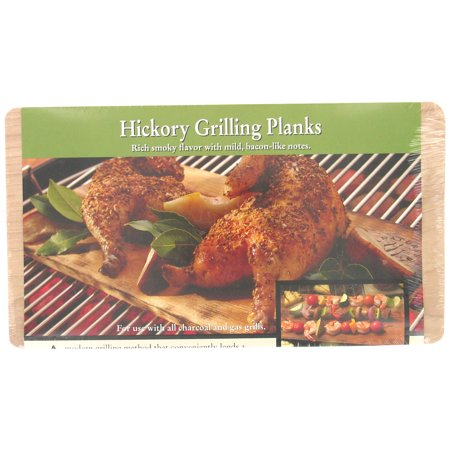Natures Cuisine NC008-210 2 Count Hickory Cedar Outdoor Grilling Plank