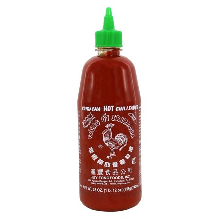 Sriracha Hot Chili Paste - Huy Fong Foods, Inc. - Sriracha Hot Chili Sauce - 28 oz(pack of 6)