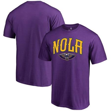 New Orleans Pelicans Fanatics Branded Mardi Gras Pride T-Shirt - - Mardi Gras Clothing New Orleans