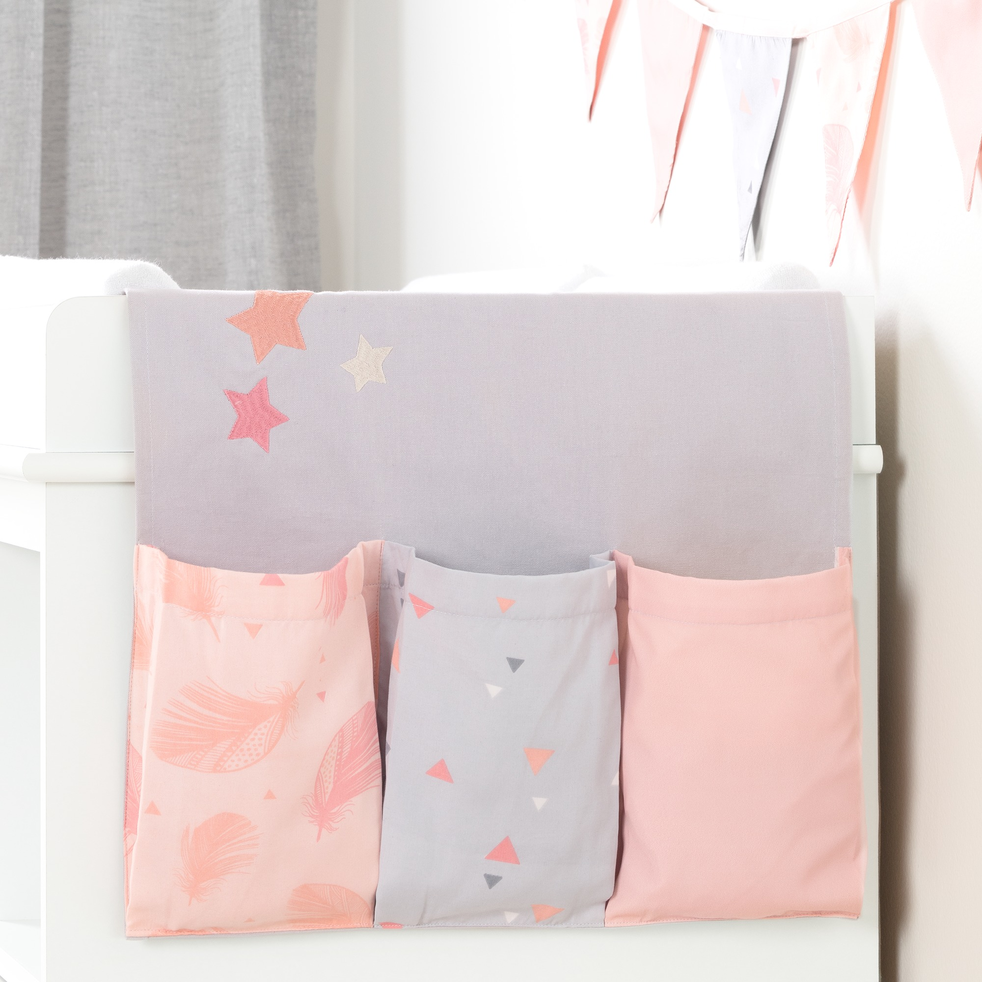 South Shore DreamIt Changing Table Runner and Pennant Banner, Multiple Colors