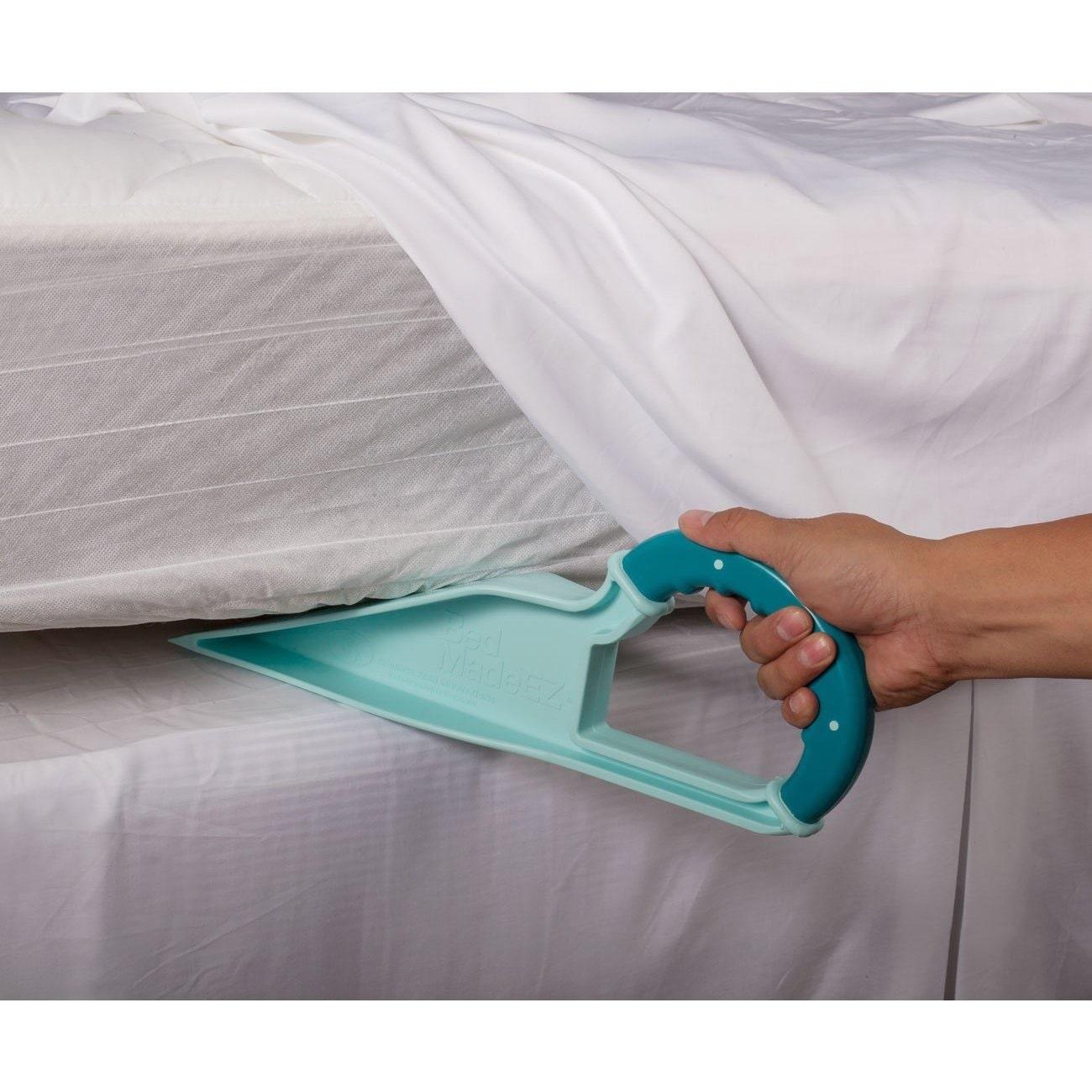 Eluxurysupply Easy Bed Making Wedge Bed Made Ez Blue