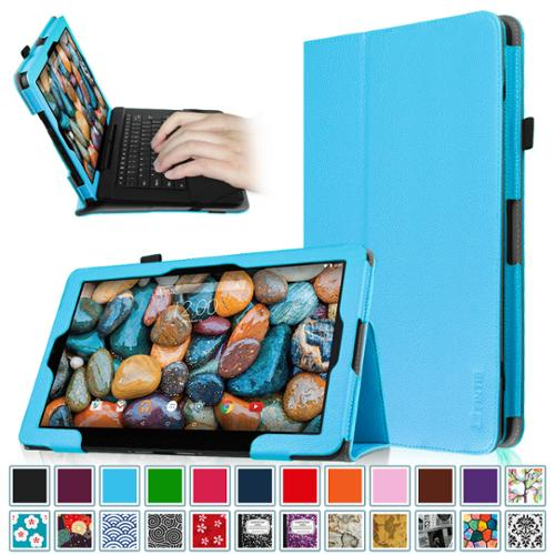 """Fintie Rca 11 Maven Pro 11.6"""" (RCT6213W87DK) & RCA Cambio 11.6 inch (W116V2) Tablet Case Vegan Leather Cover, Blue"""