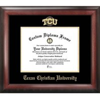 "Texas Christian University 8.5"" x 11"" Gold Embossed Diploma Frame"