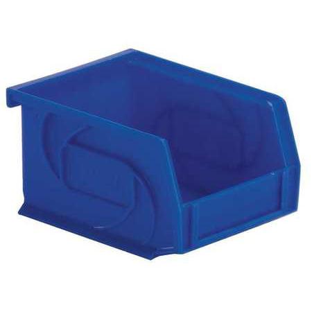 Lewisbins 15 lb Capacity, Hang and Stack Bin, Blue PB54-3 DARK BLUE