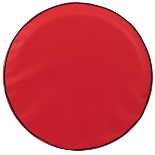 Tire Cover by Holland Bar Stool - Plain Red, 29.75'' x 8''
