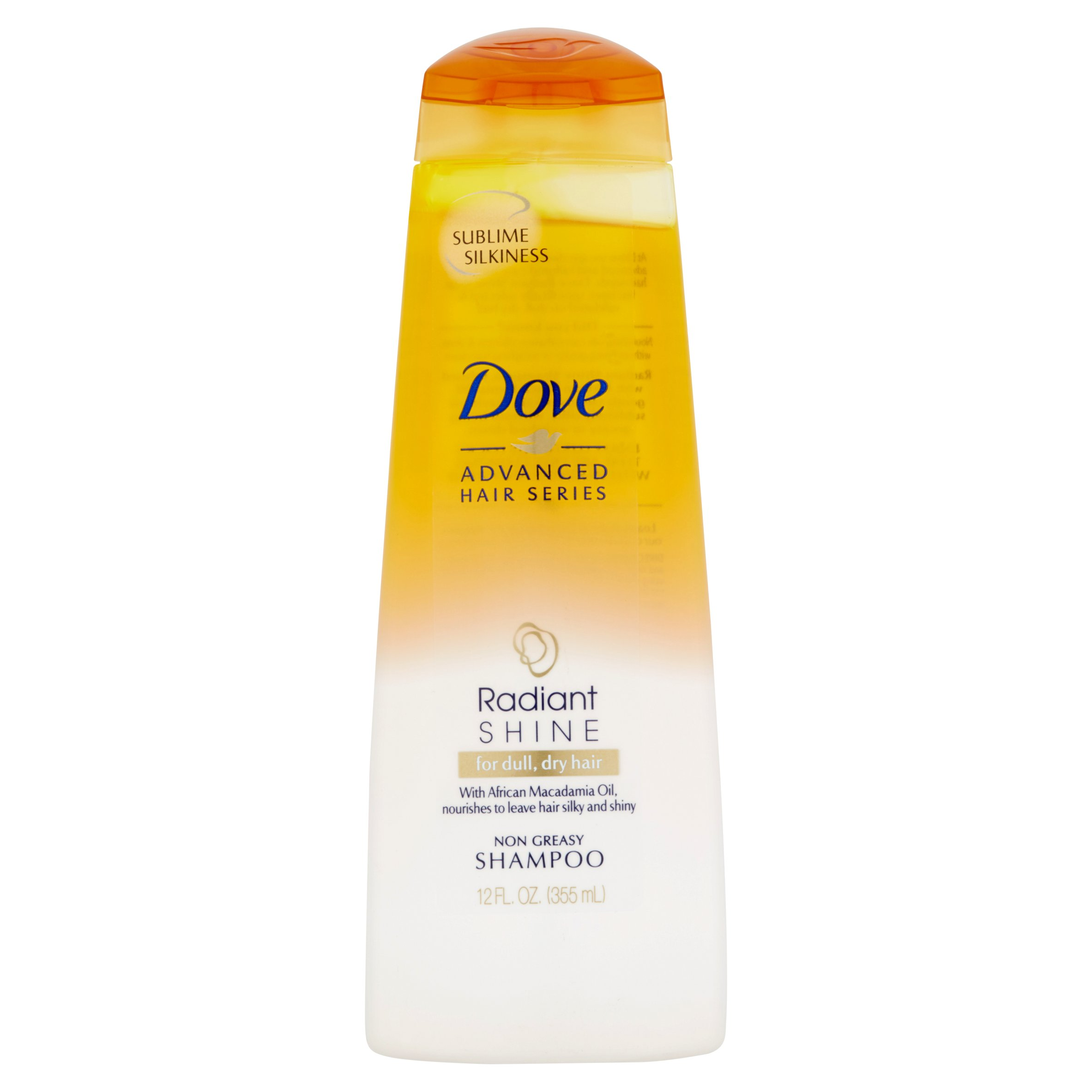 Dove Advanced Hair Series Radiant Shine Shampoo, 12 Oz - Walmart.com