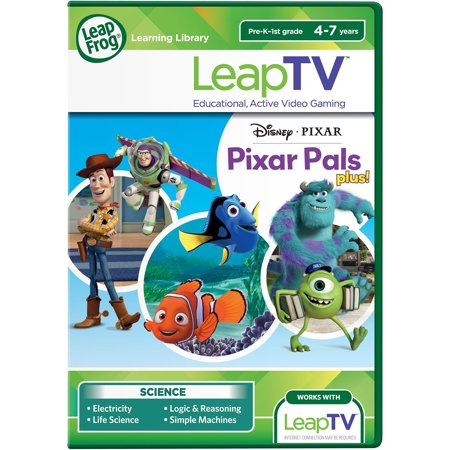 LeapFrog LeapTV Disney Pixar Pixar Pals Plus Educational, Active Video Game