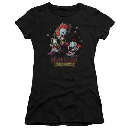 Killer Klowns From Outer Space Killer Klowns Juniors Short Sleeve - Killer Klowns From Outer Space Full Costume