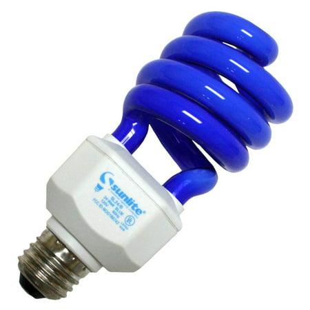 SUNLITE 05511 Compact Fluorescent 24W Super Twist Colored Bulb Compact Fluorescent Twist Bulb