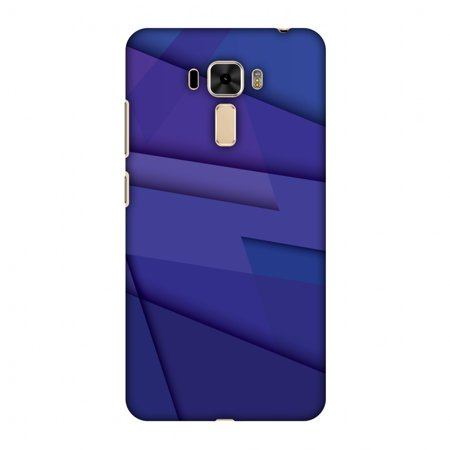 Asus ZenFone 3 Laser ZC551KL Case - Intersections 8, Hard Plastic Back Cover. Slim Profile Cute Printed Designer Snap on Case with Screen Cleaning (Honor 8 Vs Asus Zenfone 3 Laser)