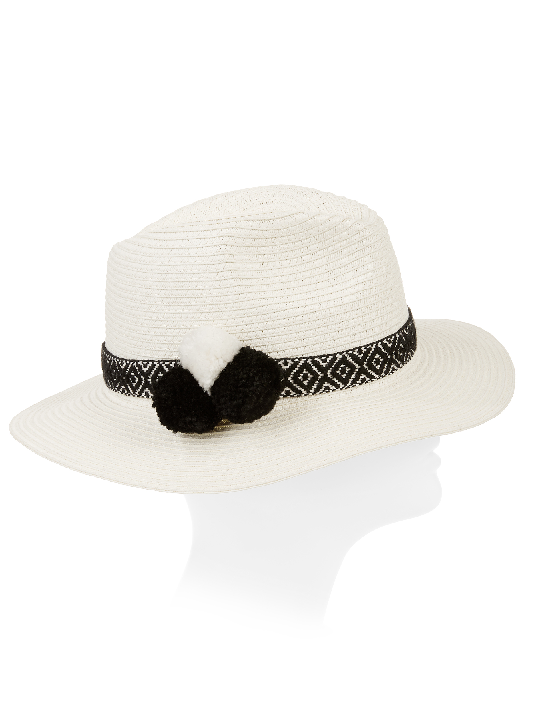 Eliza May Rose Women's Contrast Color Fedora