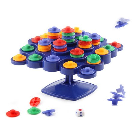 Mosunx Children Educational Toys Board Game Desktop Toy Balancing Top Tower