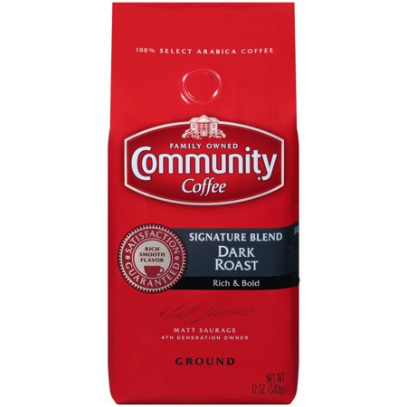 Community® Coffee Signature Blend Dark Roast Ground Coffee 12 oz. Bag
