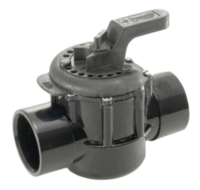 Pentair 2-Way CPVC 2-Inch Swimming Pool High Flow Rate Diverter Valve | 263027
