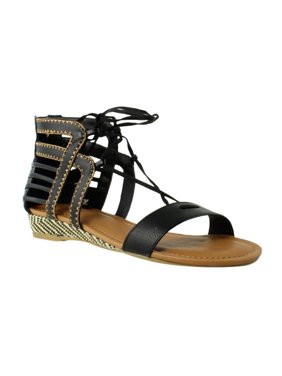 dc5f65bed9a Product Image Sugar Womens Black Ankle Strap Sandals Size 7 New