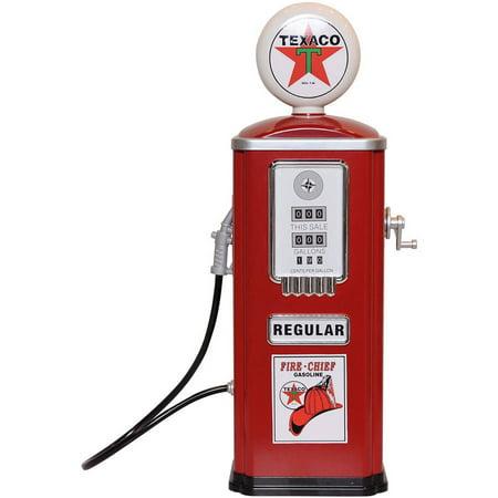 Chevron Texaco Steel Gas Pump