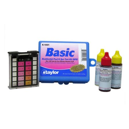Taylor K-1001 DPD Complete Basic Residential Swimming Pool Spa 3 Way Test - Discount Pool Kits Coupon Codes