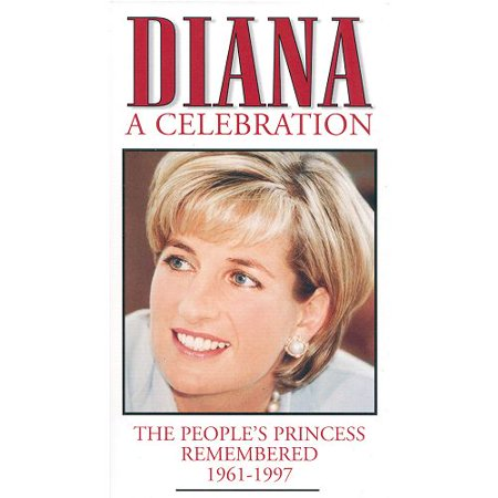 Diana A Celebration (1999): The People's Princess Remembered 1961-1997 VHS Tape - Vhs Tape Costume