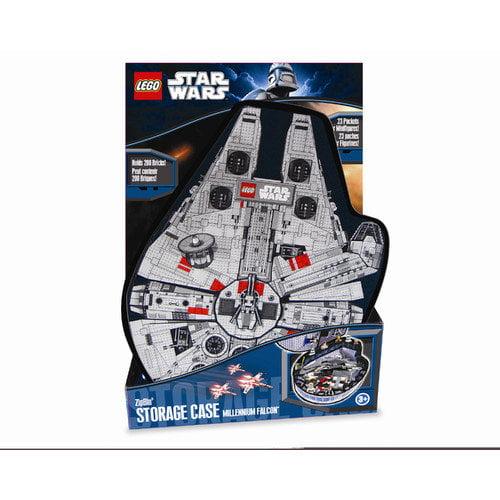 ZipBin Lego Star Wars Small Millennium Falcon Minifigure Case