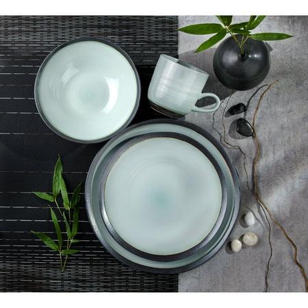Euro Ceramica  Diana 16 Piece Modern Dinnerware Set (Service for 4)