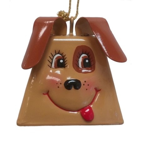 Belsnickel Giggle Lings Dooley the Dog Metal Cowbell Christmas (Belsnickel Gift)