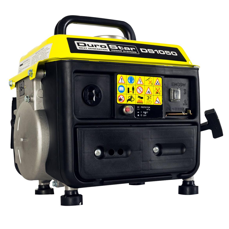 DuroStar DS1050 1,050 Watt 2-HP Air Cooled Gas Powered Portable Generator