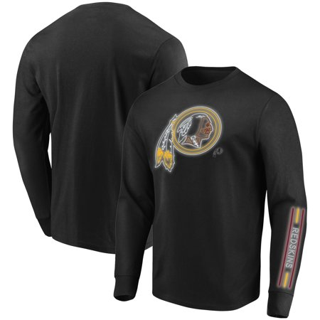 Washington Redskins Majestic Startling Success Long Sleeve T-Shirt - Black