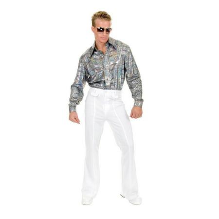 Halloween Glitter Hologram Plus Disco Shirt - Hologram Halloween