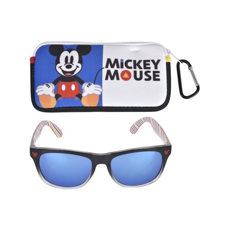 Mickey Mouse Boy's Sunglass and Case (Where To Buy Sunglass Cases)