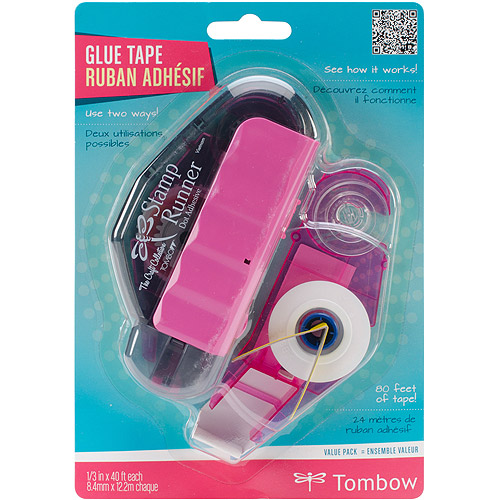 "Tombow Stamp Runner Dot Adhesive Dispenser, .33"" x 40'"