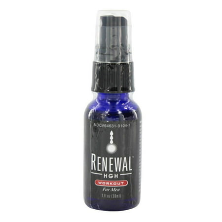 Always Young Renewal HGH Workout For Men Liquid, 1 Oz ()