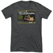 Warehouse 13 Telegraph Island Mens Tri-Blend Short Sleeve Shirt