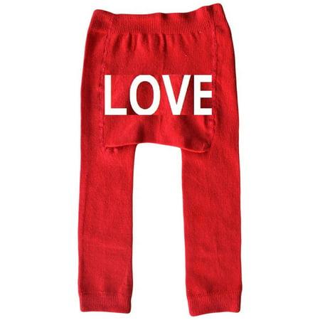 5ad4eec200c22 ONLINE - Newborn Baby Boy or Girl Unisex Love Red Baby Leggings -  Walmart.com