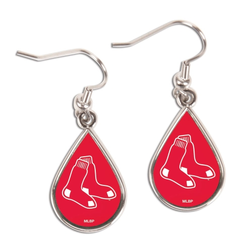 Boston Red Sox WinCraft Tear Drop Dangle Earrings - No Size