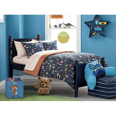 American Kids Woodland Safari Boy Bed in a Bag Bedding Set Sports Bed Boys Bedding