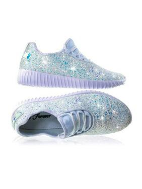 865ac946e838 Womens Fashion Casual Glitter Spakling Sneakers Bomb.