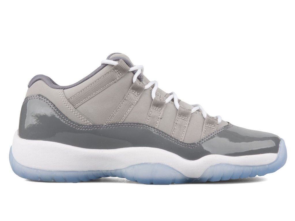 Air Jordan 11 Retro Low Cool Grey 528895 003 Walmart Com Walmart Com
