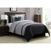 Better Homes and Gardens Art Deco 4-Piece Bedding Duvet Cover Set