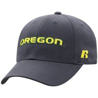 Men's Russell Athletic Charcoal Oregon Ducks Endless Adjustable Hat - OSFA