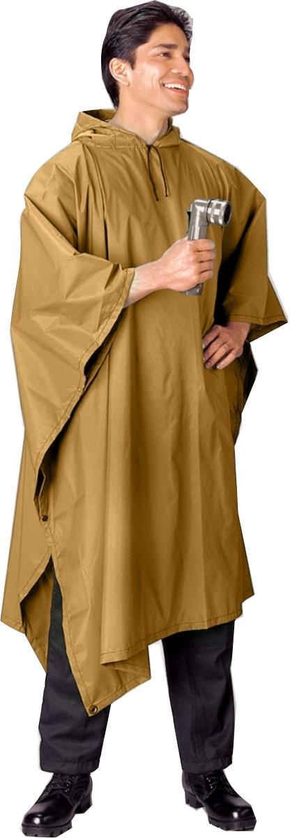 G.I. Type Military Rip-Stop Poncho by Rothco