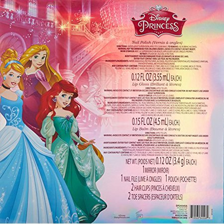 Disney Princess Townleygirl 13 Piece Cosmetic Beauty Set - image 3 of 3