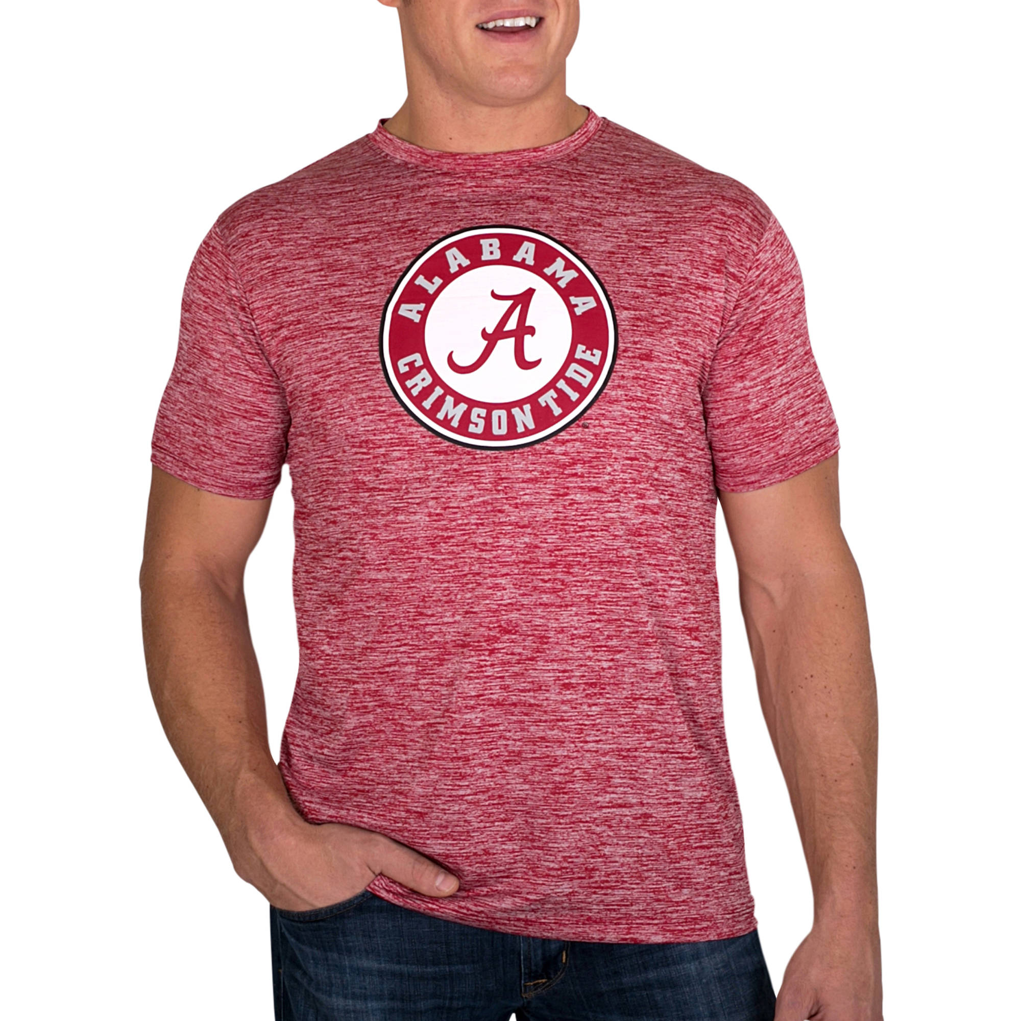 Russell NCAA Alabama Crimson Tide Men's Impact T-Shirt