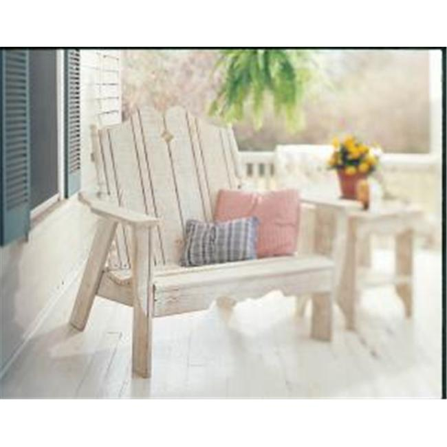 Uwharrie Chair N153 Nantucket Settee Rocker - White