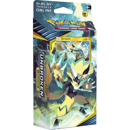Pokemon Sun & Moon 10 Unbroken Bonds Theme Deck Zeraora- | Tag Team and SM Expansion Deck - Shadow Tag Pokemon