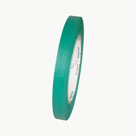 Shurtape CP-631 Colored Masking Tape: 1/2 in. x 60 yds. (Green) ()